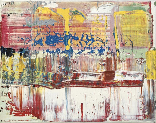 gerhard richter abstract art painting