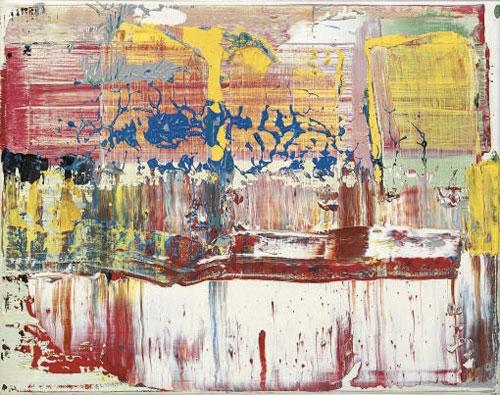gerhard richter abstract art painting
