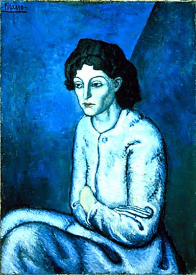 picasso blue painting
