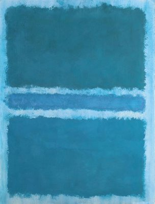 rothko blue painting