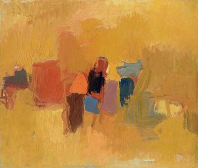 esteban vicente abstract art