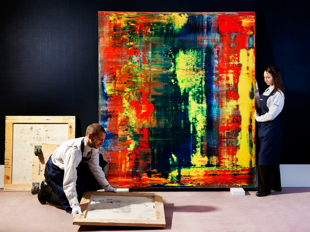 richter mos expensive painting