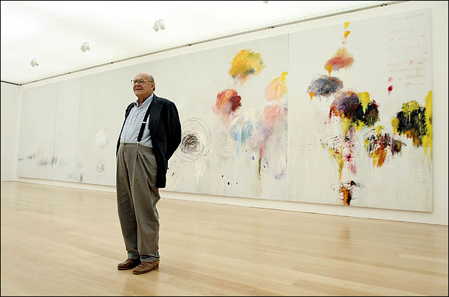 Cy Twombly, yasoypintor, about abstract art, abstract artists paintings, xavier ribas