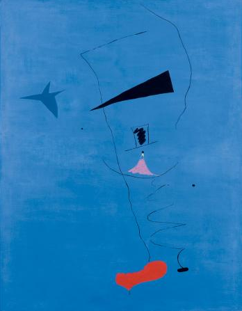 Miro price record, miro abstract painting