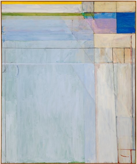 Diebenkorn abstract art, diebenkorn painting,