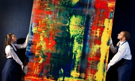 Gerhard Richter, price auction record, yasoypintor