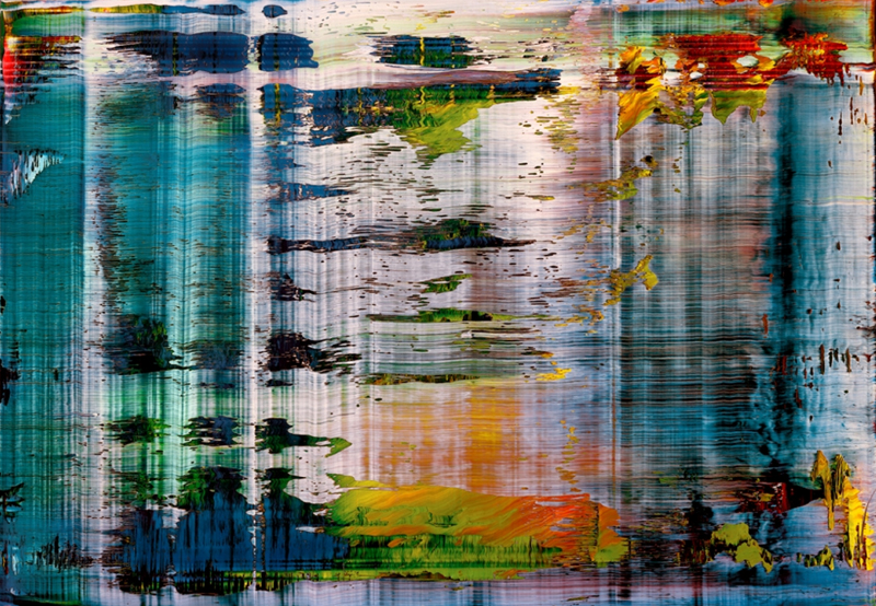 Gerhard Richter, painting abstract art