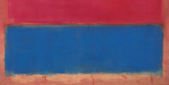 Mark Rothko's 1954 (detail)
